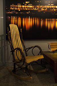 amish furniture rustic midcentury