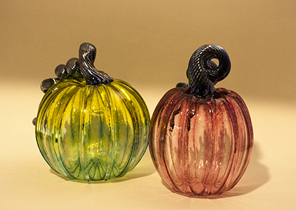 Glass Pumpkins, a Fall Favorite